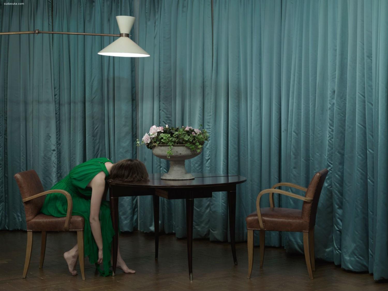 Anja Niemi系列摄影《Do Not Disturb》