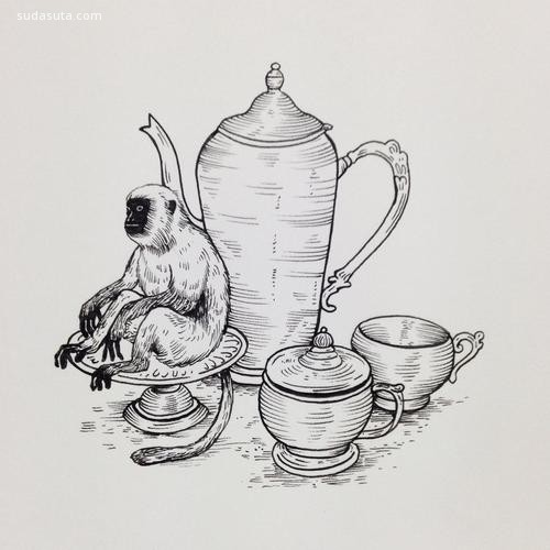 Geffen Refaeli 有趣复古的图案设计