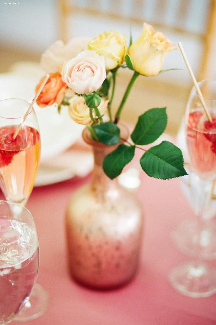 香槟色的花语清香