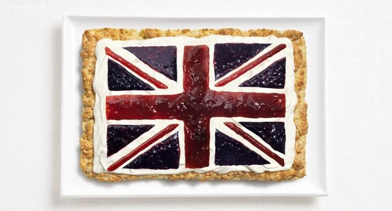 WHYBIN\TBWA 有趣的美食国旗