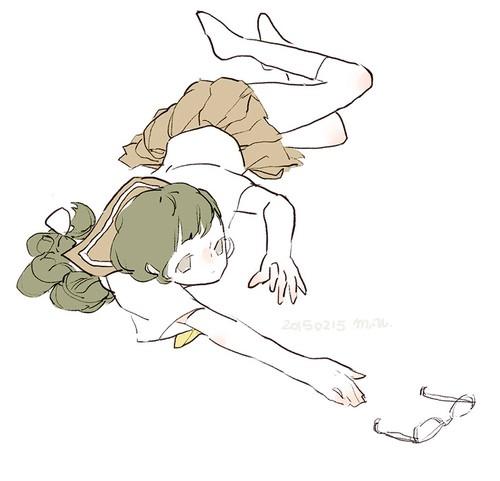mitsu.umi 描绘少女的涂鸦本子