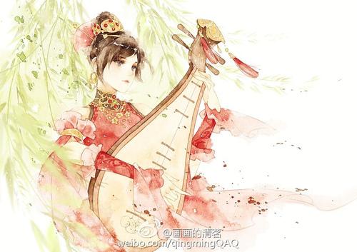 清茗 清新细腻的中国风CG欣赏