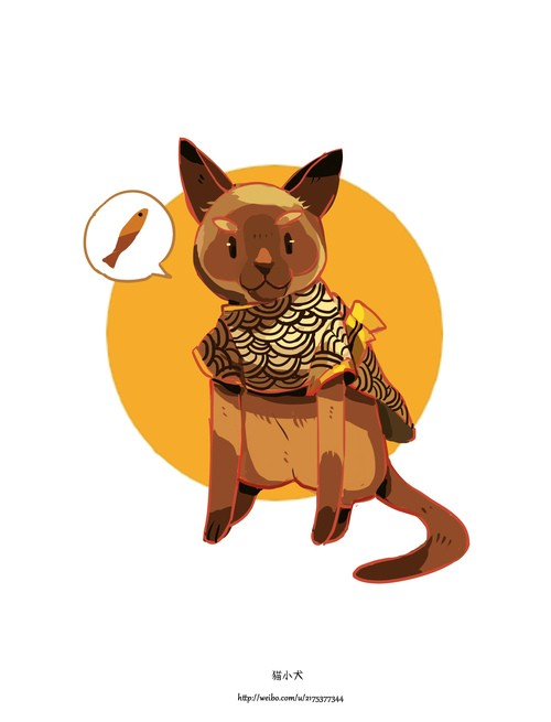 猫小犬 温馨浪漫的动画故事