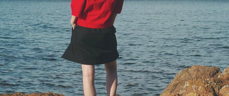 Red Vintage 青春人像摄影欣赏