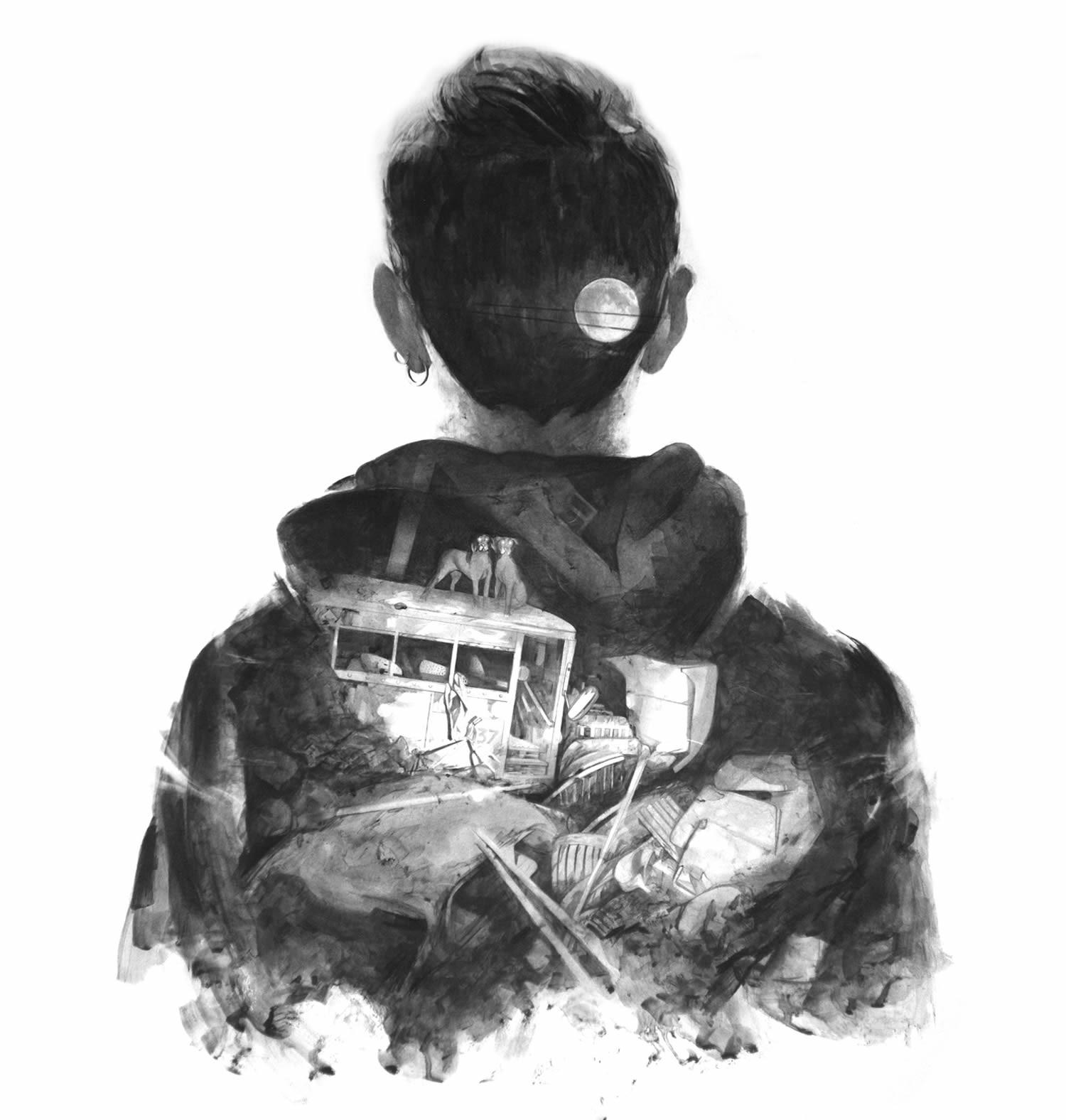 Thomas Cian 人像插画欣赏