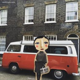 伦敦艺术家tilly2milly 的混合艺术