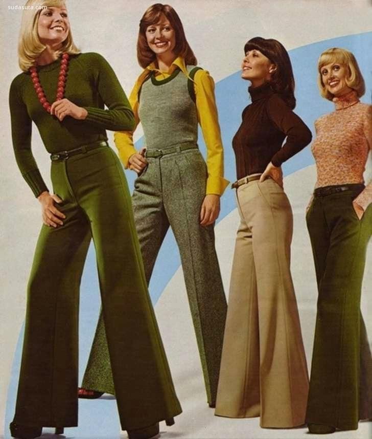 70年代的时尚杂志 图片素材分享