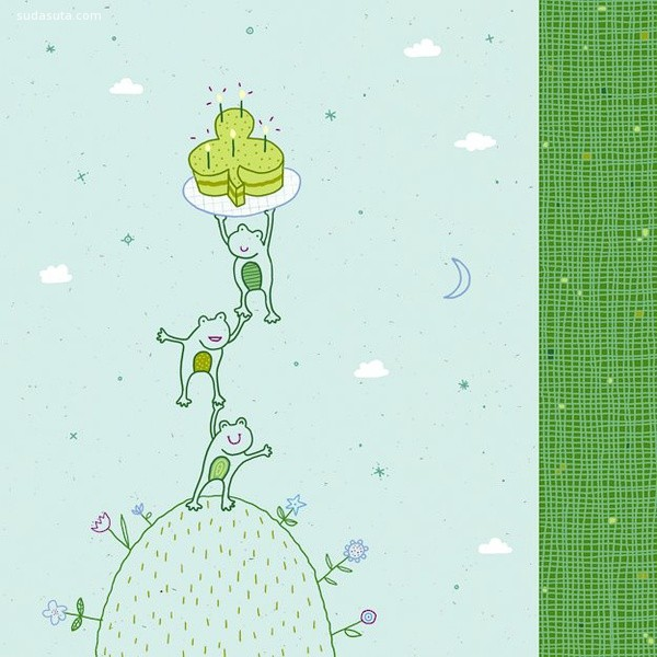 Betsy Snyder 儿童插画欣赏