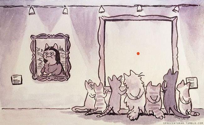 Carrie Liao 博物馆与猫咪