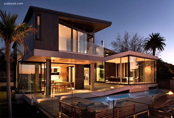 Contemporary Concrete House 建筑及室内设计欣赏