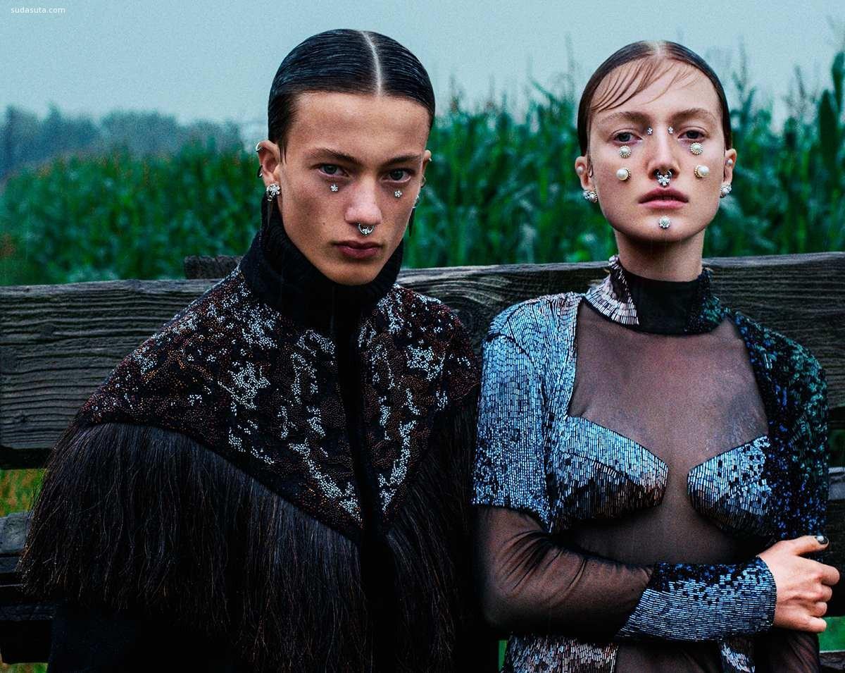 Lou Schoof和Nils Schoof 时尚摄影欣赏
