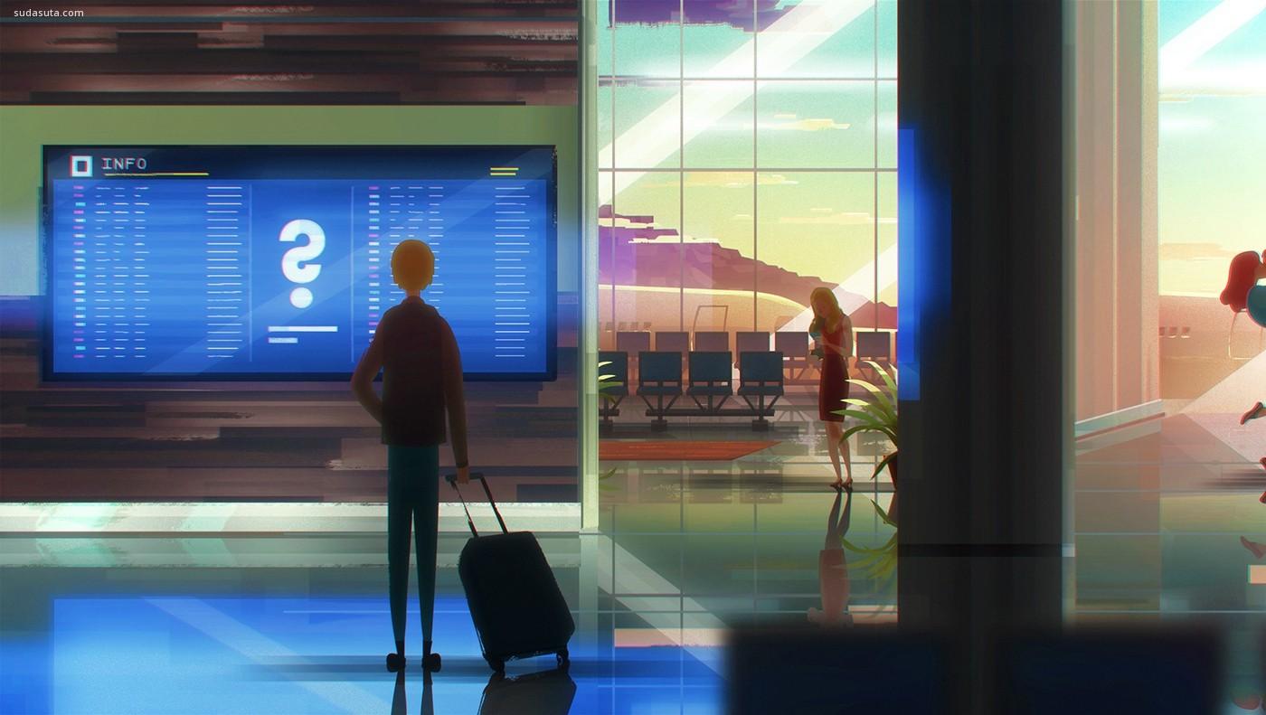 Eric Pautz 商业动画截图欣赏