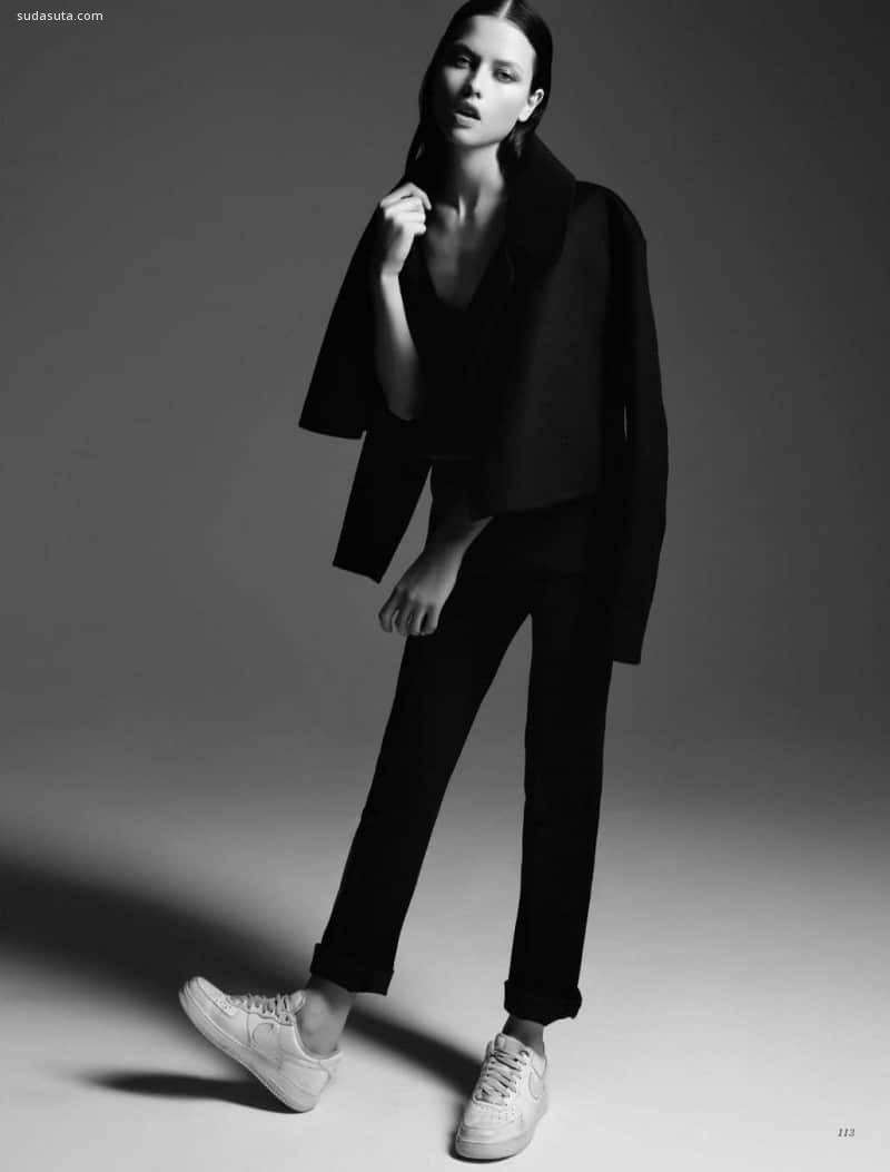 超级模特Isis Bataglia 时尚摄影欣赏