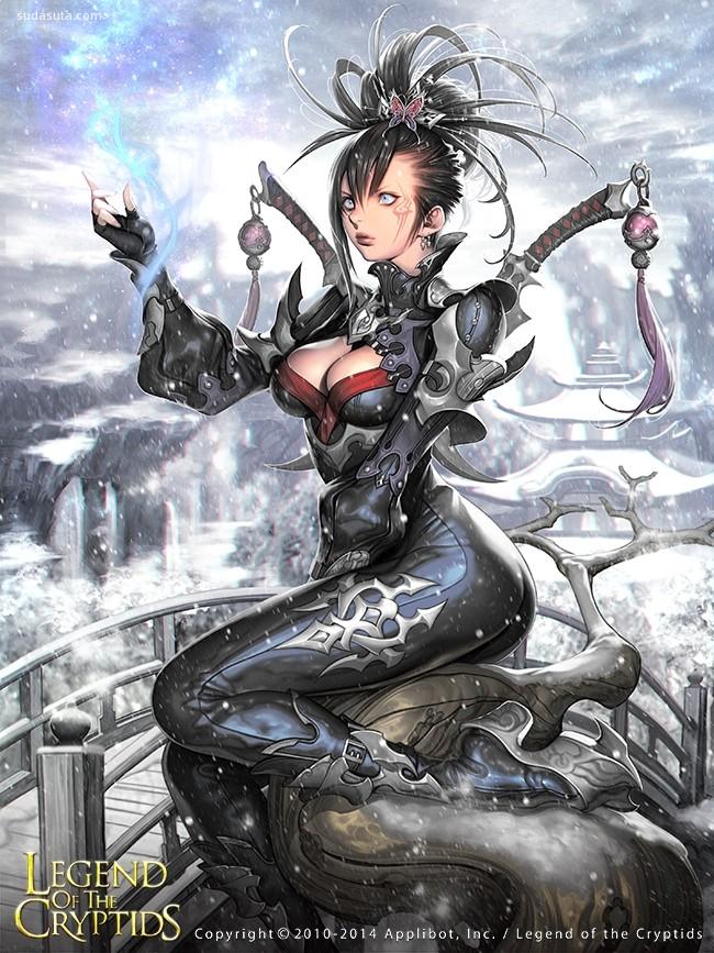 韩国插画师Jongchul lee 卡牌游戏插画欣赏