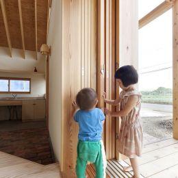 Kawagoe House 木头房子