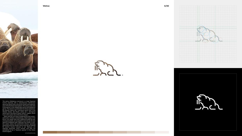 Marcin Usarek 灵感来自于动物的LOGO图形设计欣赏