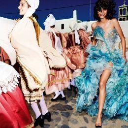 Mica Arganaraz 和 Rianne Van Rompaey 时尚摄影欣赏