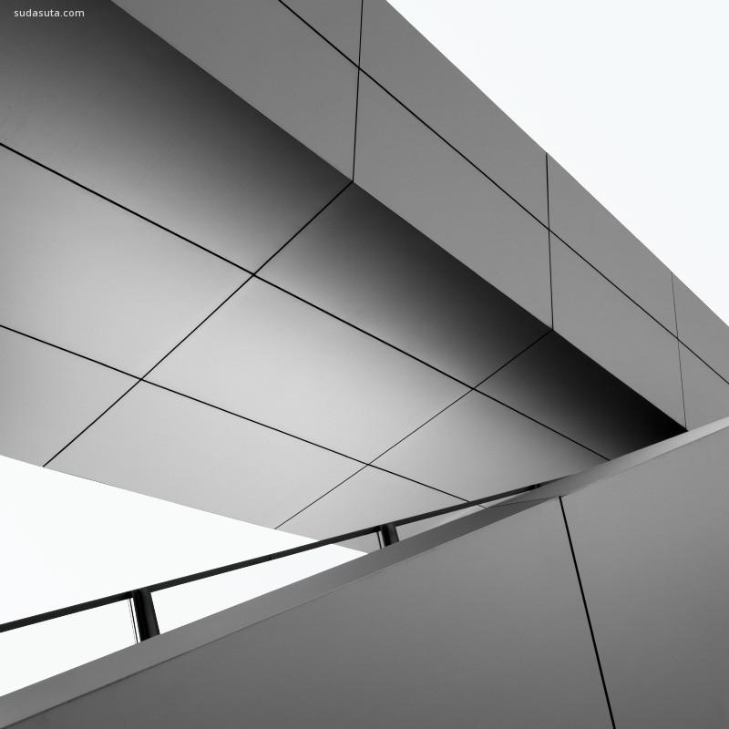 Nick Frank 简约黑白建筑摄影欣赏