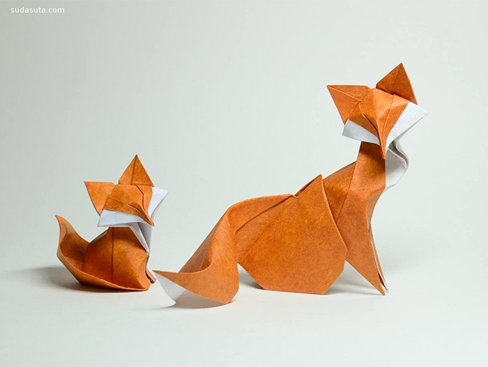 不可思议的日本折纸艺术