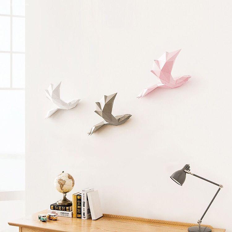 PAPA 悬挂在家里的纸张艺术