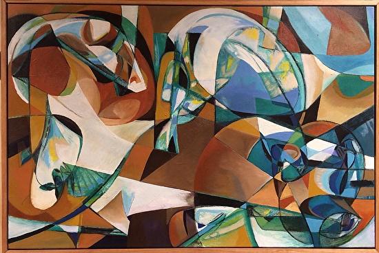 Seth Benzel 抽象艺术绘画欣赏