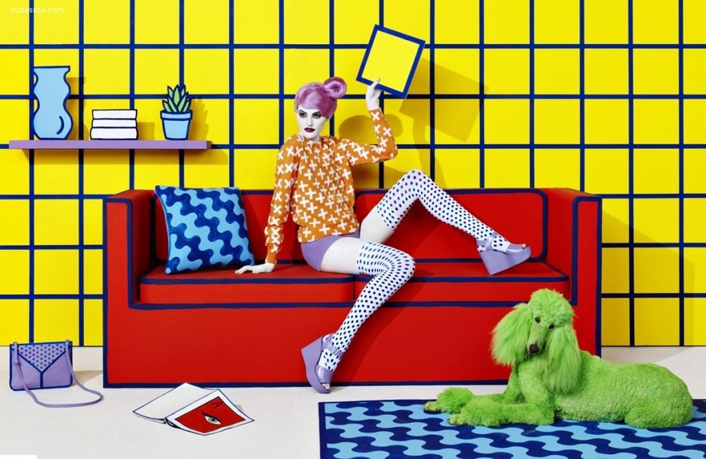 Stefan Sagmeister 和 Jessica Walsh 橱窗设计欣赏