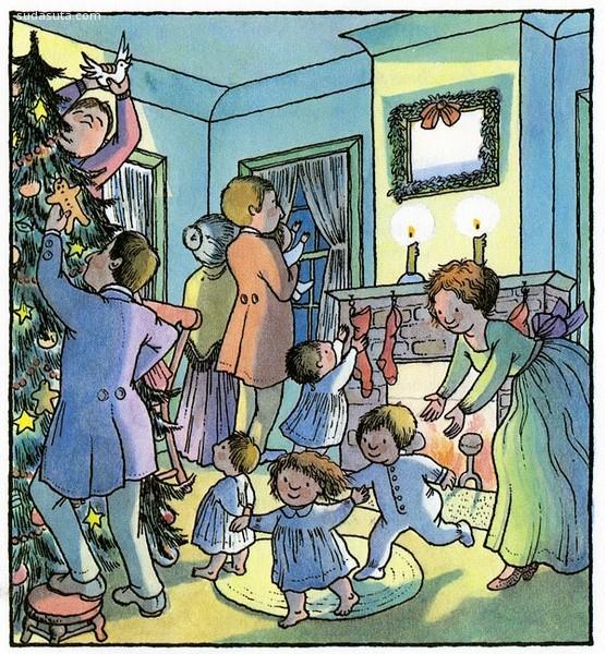Wendy Watson 儿童插画欣赏