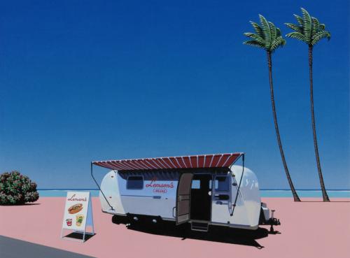 Hiroshi Nagai 绘画艺术欣赏