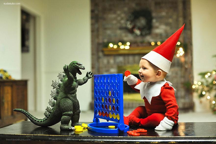 Alan Lawrence 圣诞主题儿童摄影欣赏