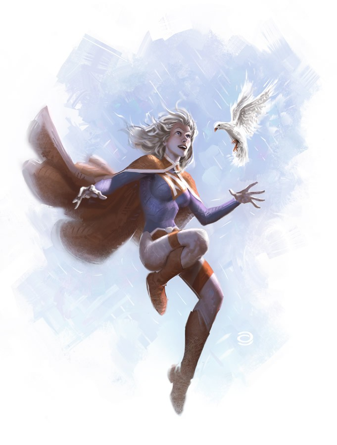 Alex Garner 超级英雄主题插画欣赏