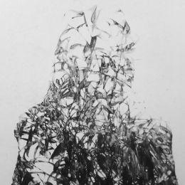 Anouk Griffioen 黑白艺术作品欣赏