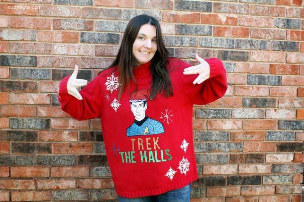 搞笑可爱的圣诞装