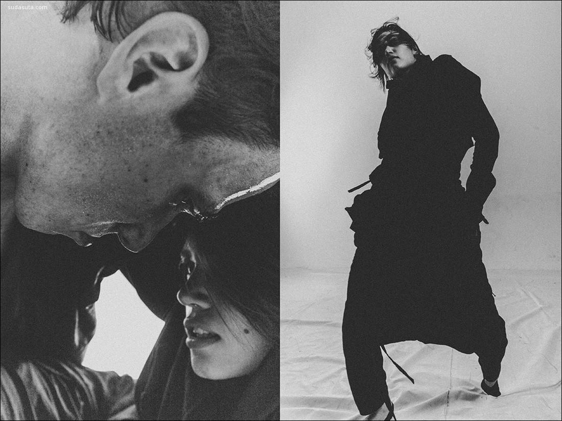 Dmitri Pryahin 黑白时尚摄影欣赏