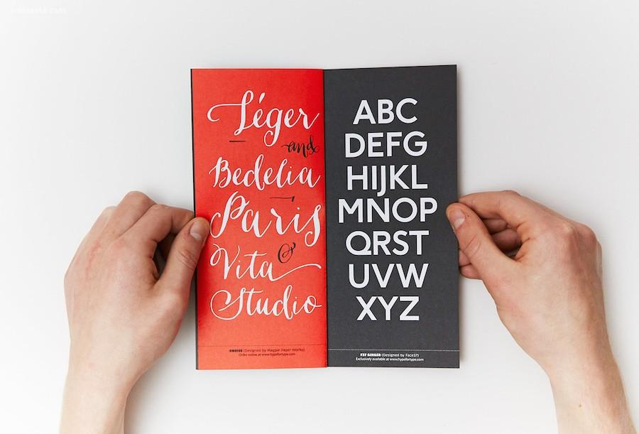 小小的黑色字体书