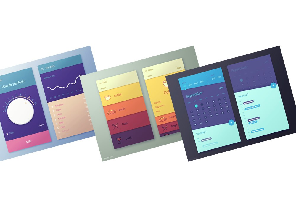 Gal Shir UI界面设计欣赏