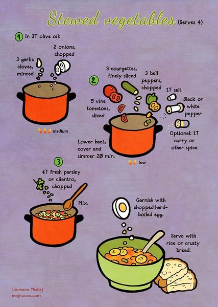 Majnouna 减越可爱的美食烹饪日记