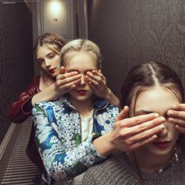 Marta Bevacqua 时尚摄影《8号房间的秘密》