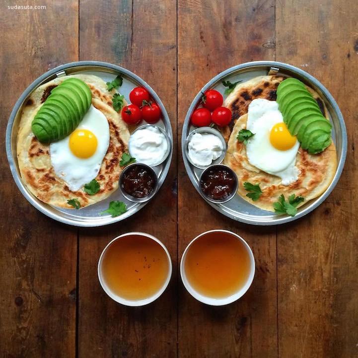 Michael Zee和Mark van Beek 每天的早餐