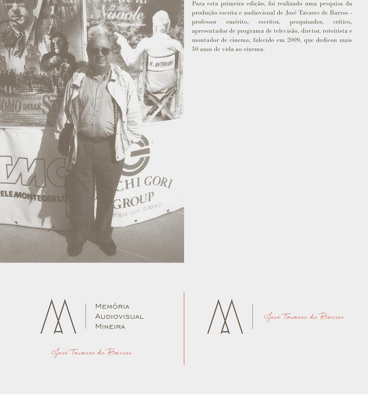 Memória Audiovisual Mineira 品牌设计欣赏