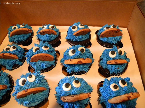 可爱的创意蛋糕设计欣赏