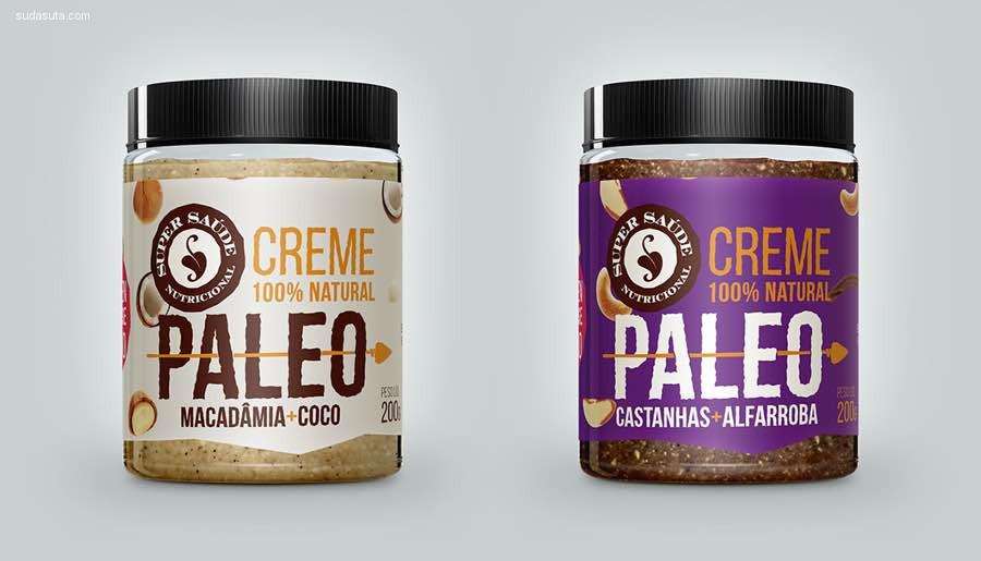 Paleo Nut Butter 包装设计欣赏