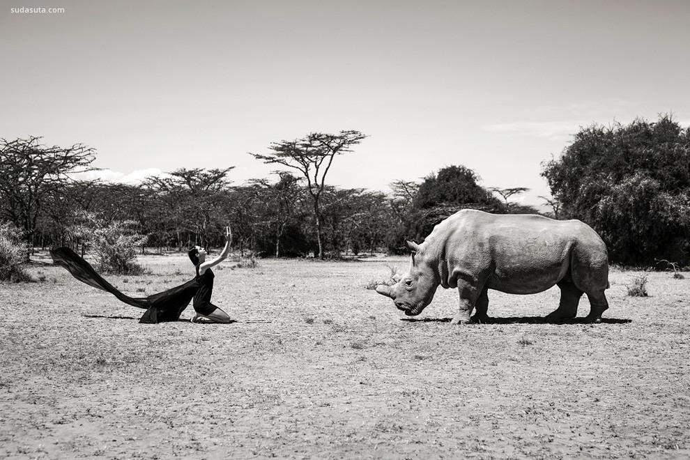 Sean Lee-Davies 探索动物与人的摄影作品欣赏