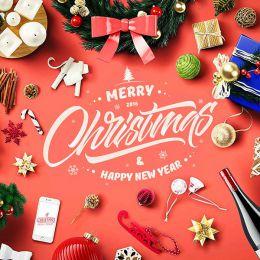 圣诞节主题字体排版设计欣赏