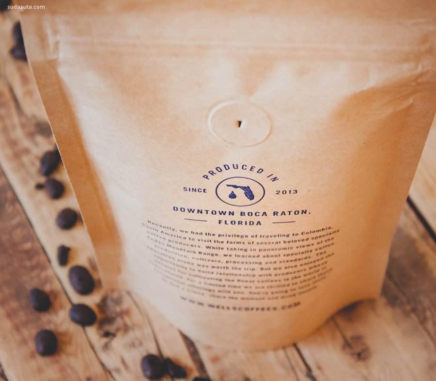 Wells 咖啡包装设计欣赏