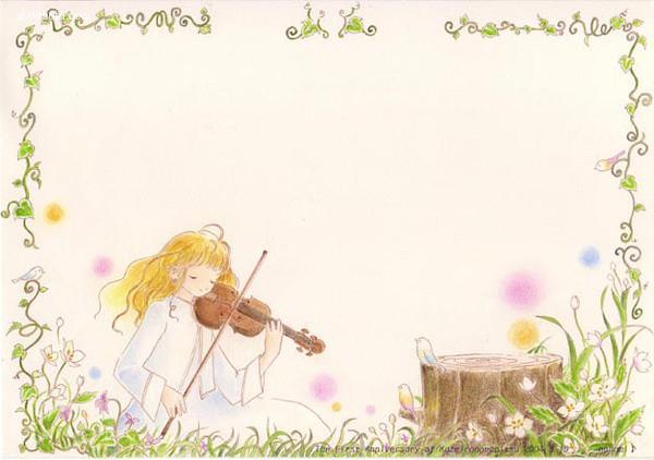 月音七海 温馨可爱的儿童插画欣赏