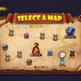 在PS中如何绘制一张游戏地图