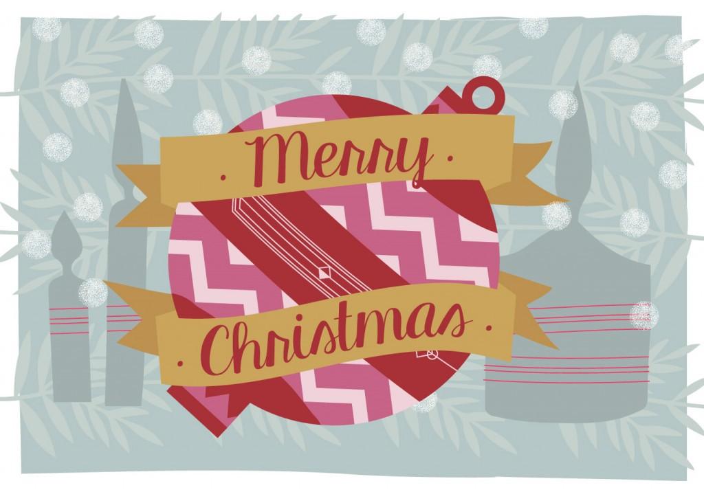 新鲜圣诞节主题图案设计免费下载