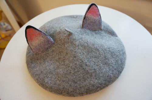 萌萌的手工毛毡帽子 4姑娘の原创手工铺