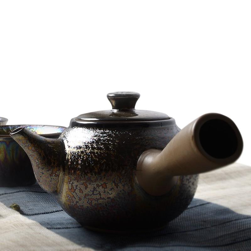 滨熙 天目釉陶瓷作品欣赏
