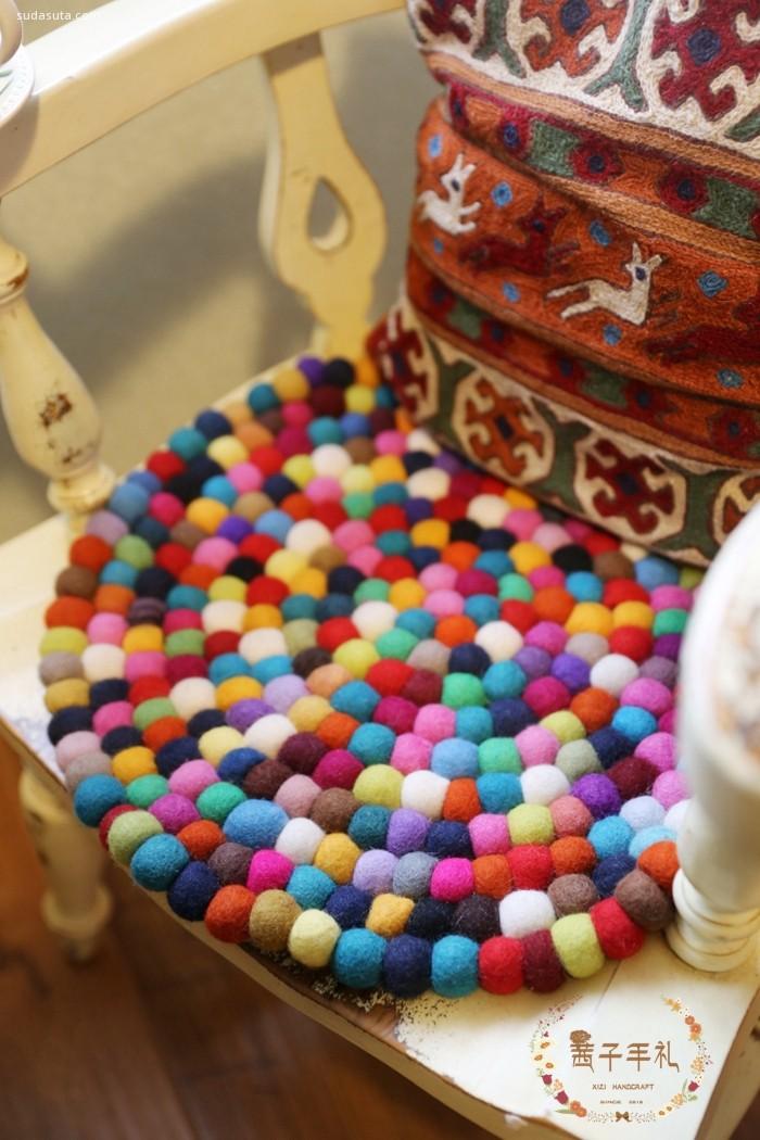 茜子手礼 充满色彩的异域玩物